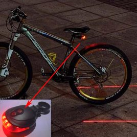 LED/Laser Bicycle Safety Tail light
